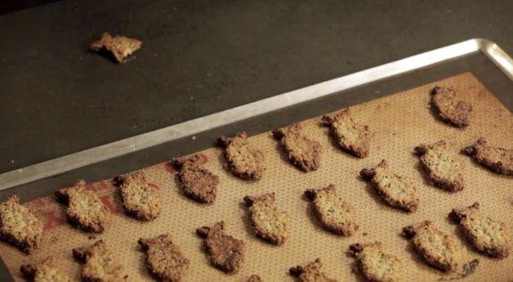 Oatcakes uit de aflevering 'Makreel uit Egmond aan Zee' #KMVB #kokenmetvanboven #voorgerechten
