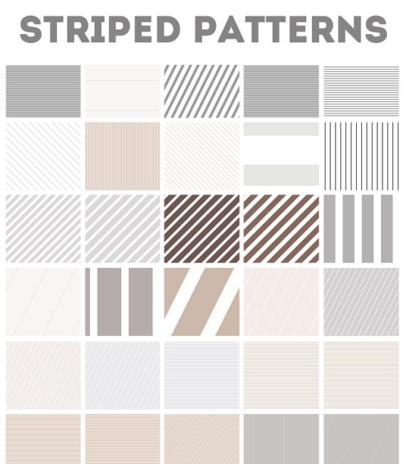 Striped Web Backgrounds Photoshop Pattern File by AngieMakes, $6.00