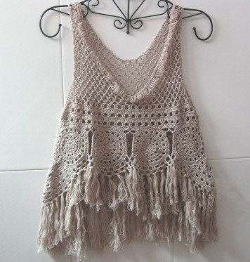 Crochet with fringe