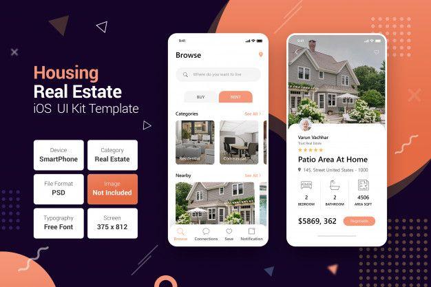 Housing Real Estate Mobile Apps In 2020 Mobile App Splash Screen Real Estate