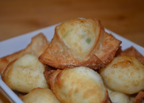 yummy Cream Cheese Wontons recipe and many more from The Salvatore's ...