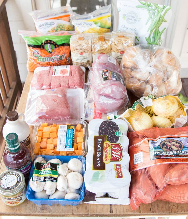 One stop at Costco (along with a few pantry/fridge ingredients you probably already have!) and you can spend this weekend filling your freezer with 20 Slow Cooker Freezer Packs! | 5DollarDinners.com