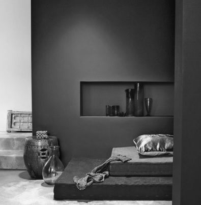 Dark Charcoal Feature Walls Paintright Colac Grey