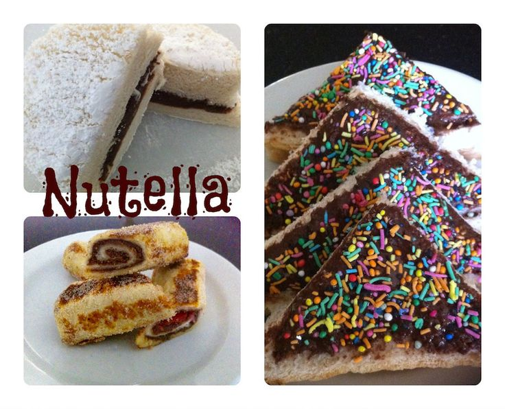 Snacks with bread and Nutella! Check out our video!