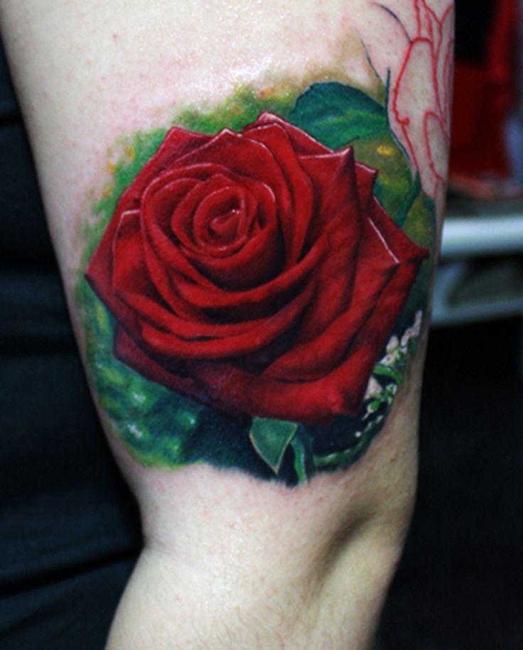 tattoo, rose, rose tattoo, dövme