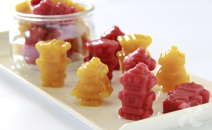 Gominolas caseras de fruta y agar - https://www.thermorecetas.com/gominolas-caseras-fruta-agar/