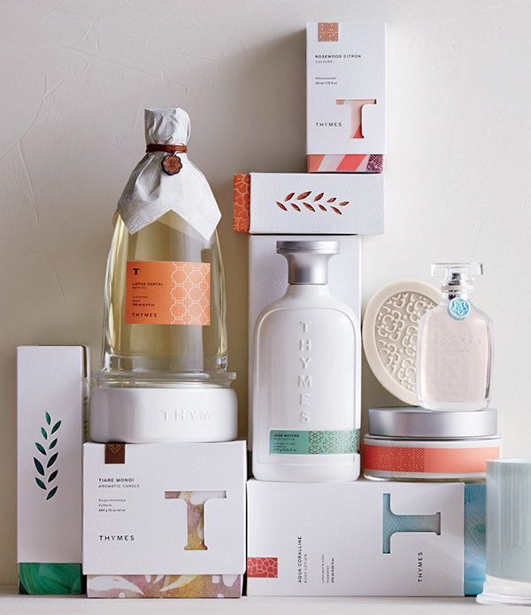 Thymes Studio Collection on Packaging Design Served