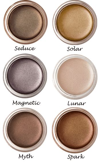 luscious cream eye shadows by RMS beauty (eco cosmetics!)
