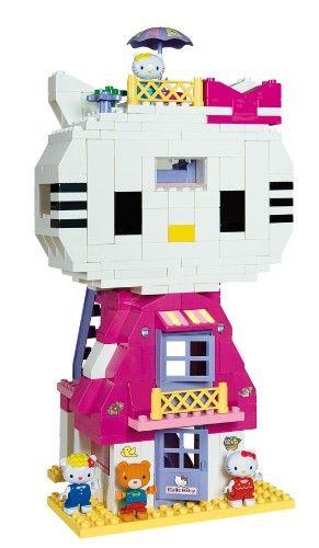 13 best hello kitty images on pinterest hello - Lego hello kitty maison ...