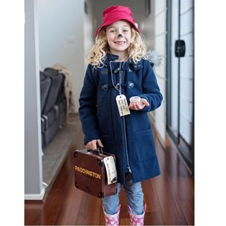 This charming Paddington Bear. | 19 Kids Who Completely Nailed Their Book Week Costumes