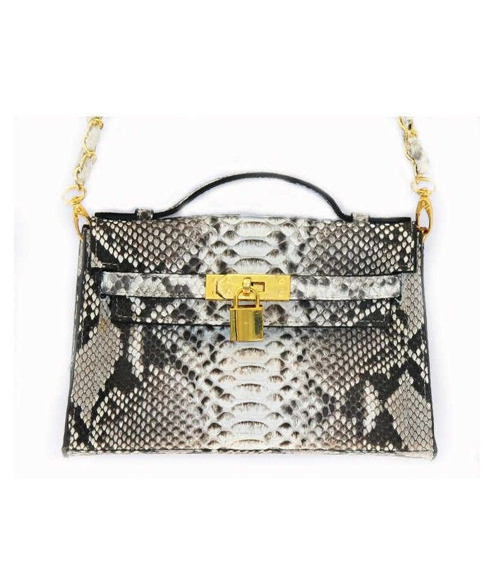 Miriam Stella Fashion Jewelry - Borsa Kelly mini #python #miriamstella #fashionblogger #moda #fashion #madeinitaly #fashionjewelry #bag #pythonbag #kelly #kellybag #minikelly