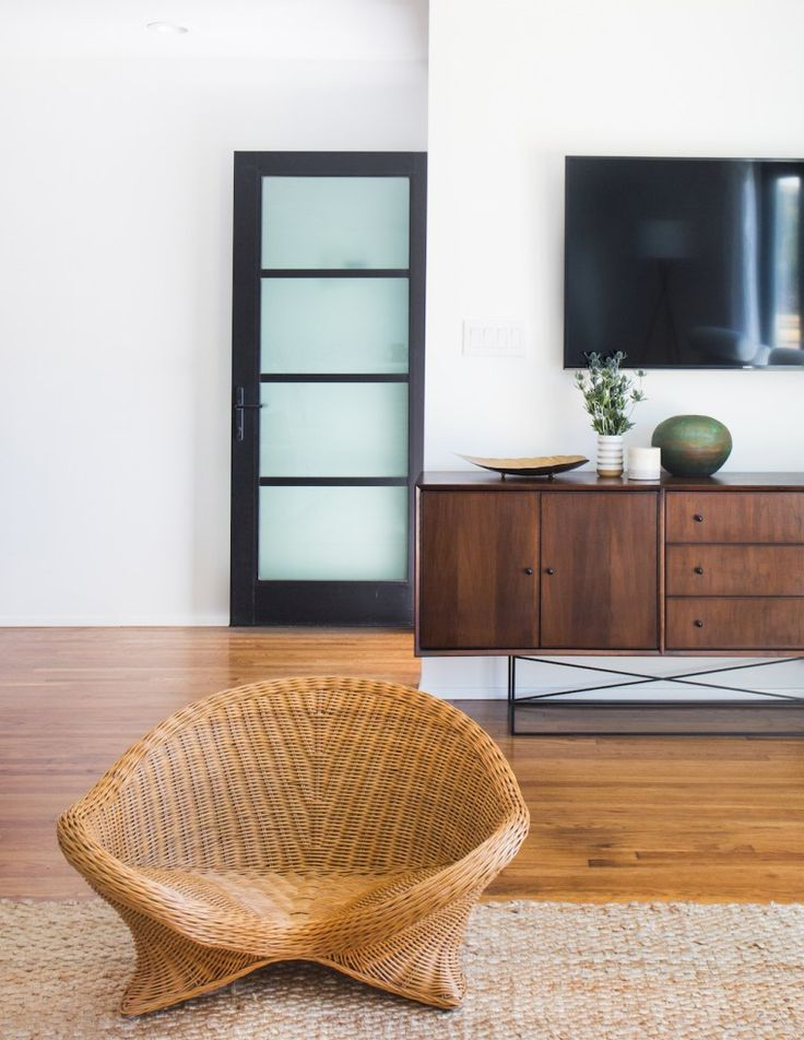 The San Clemente mid century modern home was