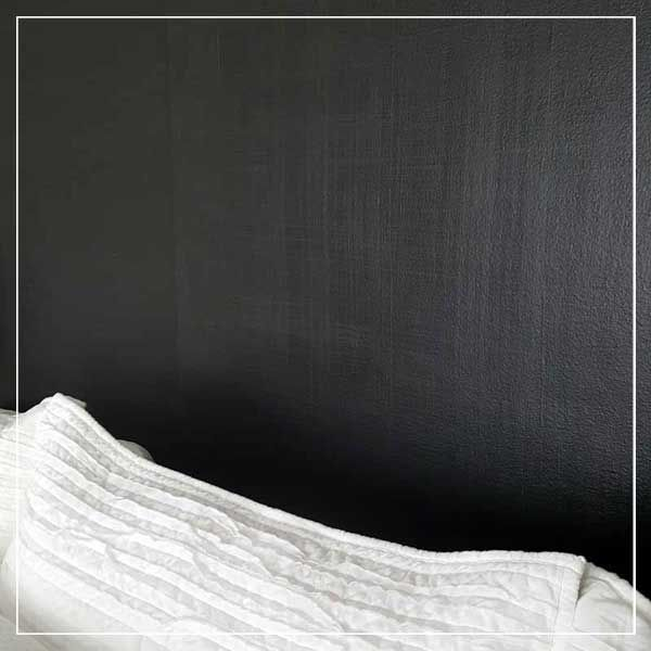 DIY: Add Linen Texture to a Wall With Paint, Glaze, and a Scrub Brush