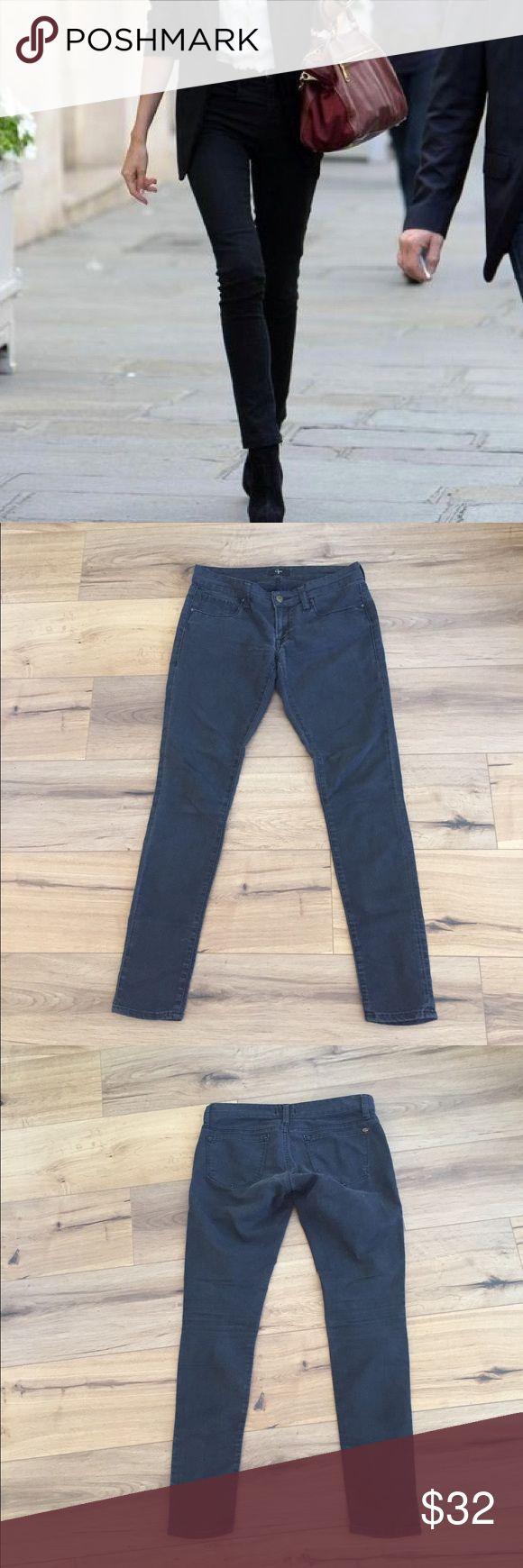 """{Bloomingdales} Aqua """"Blair"""" skinny jeans These beautiful black wash skinny jeans. 32 inseam Aqua Jeans Skinny"""