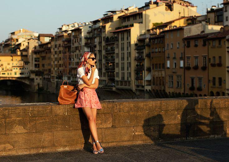 On the Street…Ponte Santa Trinita, Florence