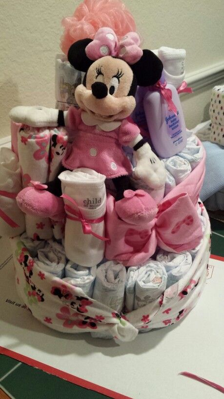 ... Tinkerbell Baby Shower. See More. Minnie Diaper Cake