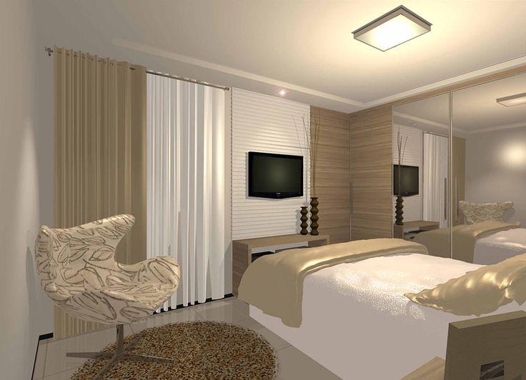 Quarto casal casa nova quarto pinterest cuartos Dormitorios matrimoniales pequenos