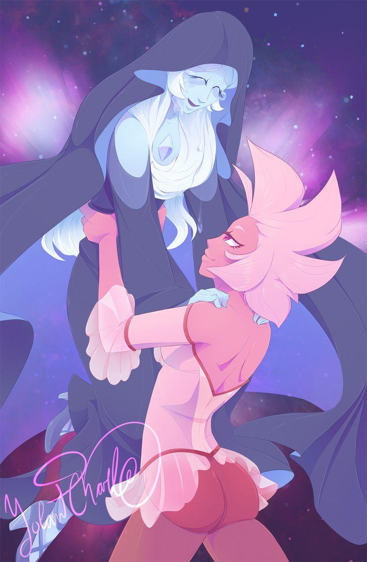 Pink Diamond,SU Персонажи,Steven universe,фэндомы,Blue Diamond,SU art,seephorstudios