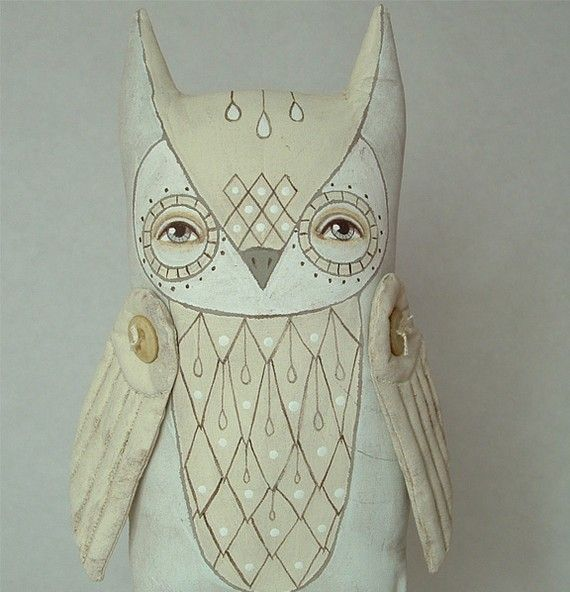 """Olin the owl. Awwww!!! Made by """"Cart Before The Horse"""""""