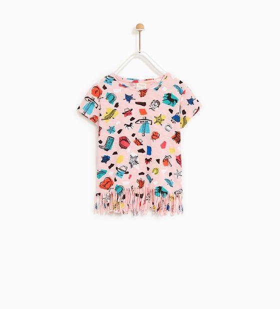3f4a26f3f22 CAMISETA ESTAMPADO | cowgirl | Kids prints, Zara kids και T shirt