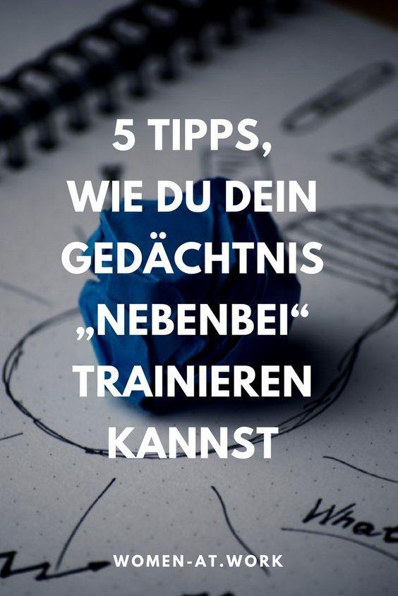"""5 Tipps, wie du dein Gedächtnis """"nebenbei"""" trainieren kannst"""