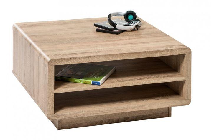 Table basse moderne en bois - Mobilier de salon moderne - Meuble et Canape.com