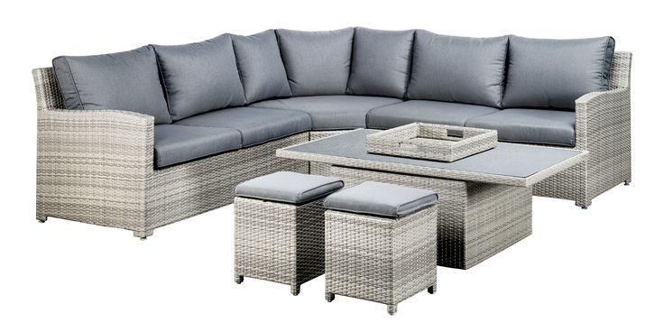 SUNS Pinto - Lounge set - SUNS Blue Collection - 6 parts - Big Corner