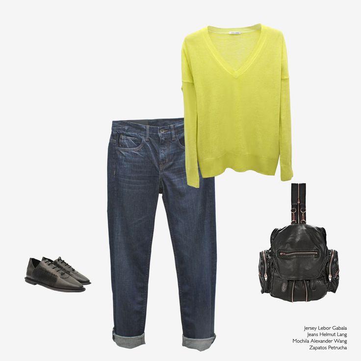 Lebor Gabala looks with our SS16 collections #arropame #conceptstore #bilbao #ss2016 #LeborGabala #HelmutLang #AlexanderWang #Petrucha #fashion #looks #ootd #shopping #trendy #style http://arropame.com/lebor-gabala-primera-capsula-ss16/