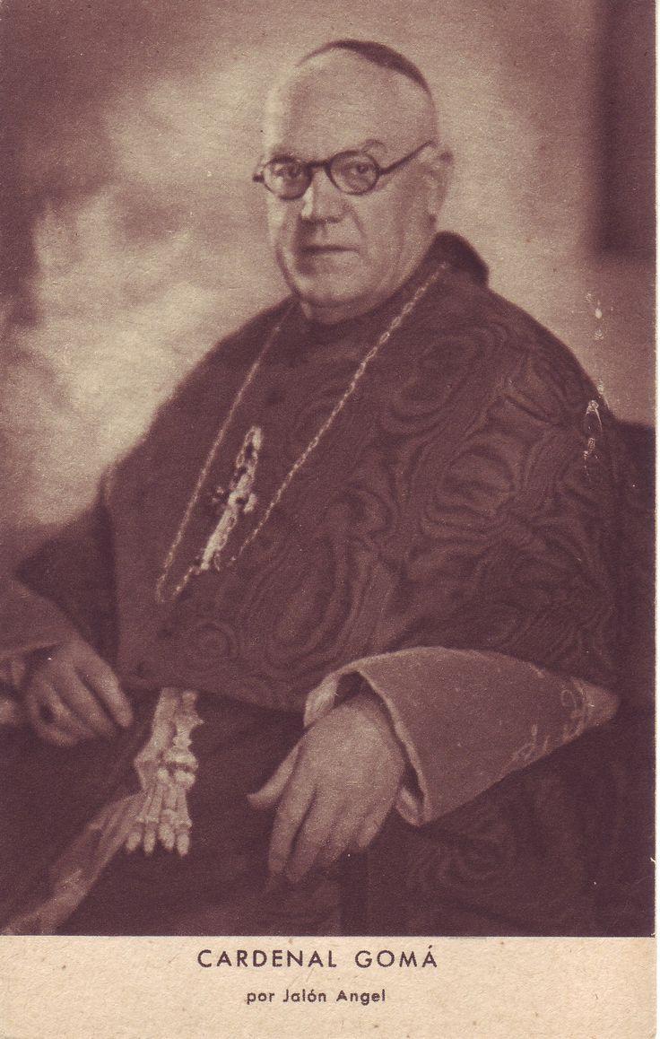 """Isidre Gomà i Tomàs (Alt Camp 1869 - Toledo 1940). Va ser cardenal primat d'Espanya durant la Guerra Civil. Va destacar donant suport al bàndol sublevat. Del conflicte va dir que era una lluita entre """"Espanya i la anti-Espanya, la religió i l'ateisme, la civilització cristiana i la barbàrie."""" #colforjadores  #CRAIBibrepublica"""