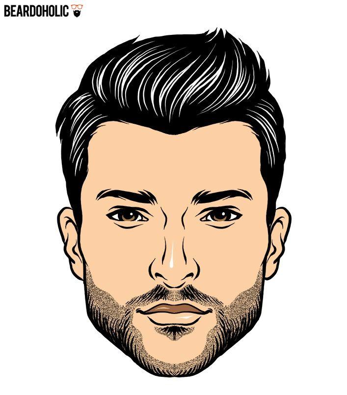 Thin Beard and Fringe In Short Beard Styles