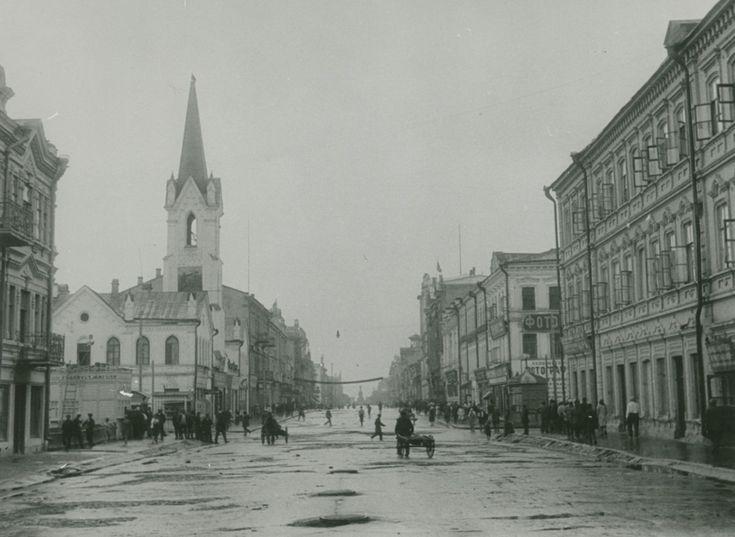 Samara, Russia. ул. Дворянская (Куйбышева), Самара, Фото Ф. Феттер, 1930 г. #samarasuper