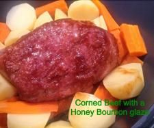 Pimped Up Silverside or corned beef with a honey bourbon glaze | Official Thermomix Recipe Community