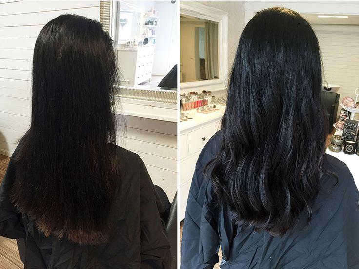 Tjockare hår med Hairtalk extensions. Jag är Supernöjd! Se bilder och läs mer på bloggen <3