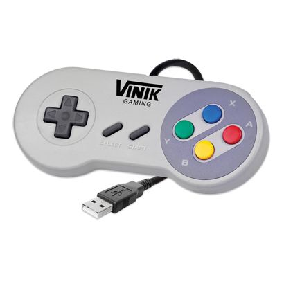 Controle SNES para PC USB VINIK - MegaMamute