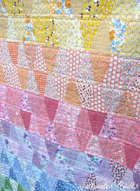reproduction tumbler quilt