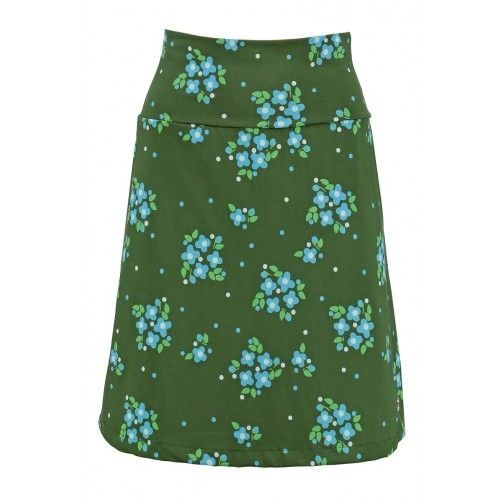Tante Betsy Skirt floral print Flora green bloemenprint rok groen