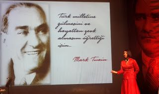 Canan Ekinci YILMAZ: Atatürk bizim bütünümüzdür
