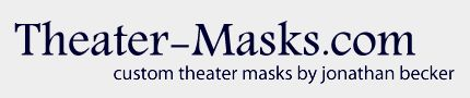 Custom Theater Masks, Commedia Masks, and Character Masks