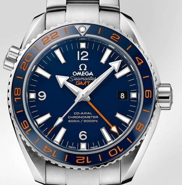 nice and chunky omega GMT Seamaster