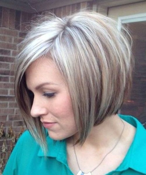 Chic Short Angled Bob Haircuts 2018 for Women