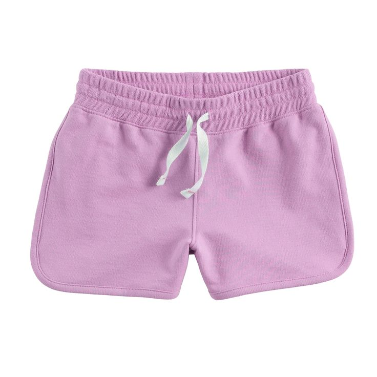 Girls 4-10 Jumping Beans® French Terry Dolphin Shorts, Brt Purple