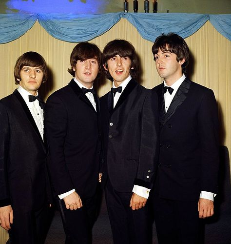 29th July 1965. The Beatles at the world premiere of Help!, London Pavilion, Piccadilly Circus.