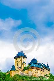 Image result for karlstejn castle watercolour paintings images