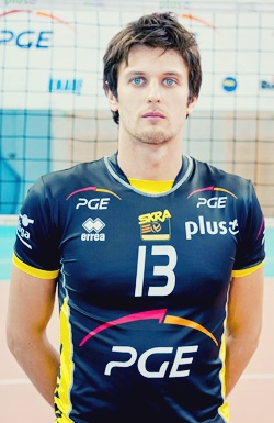 Michal Winiarski. Polish Volleyball Player.