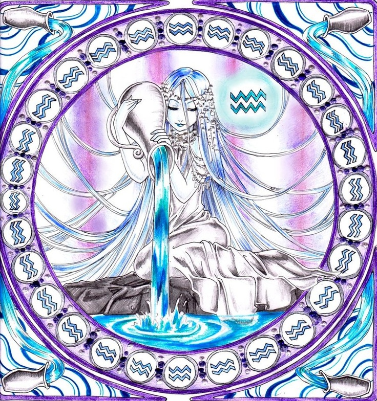 Aquarius~the sweetest child   The dream~child moving through a land Of wonders wild and new, In friendly chat with bird or beast~ And half believe it true.