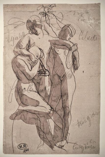Auguste Rodin, 1840-1917 https://picasaweb.google.com/116785872448386935525/DrawingsAugusteRodin