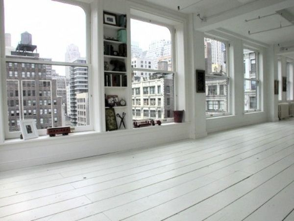apartement / city / white floor