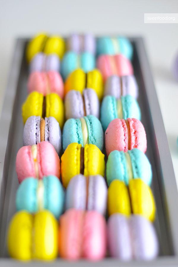 Trio de macarons – Speculoos – Chocolat – Choco/citron
