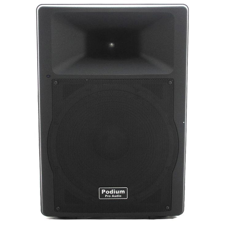 Podium Pro Audio PP1507A Bluetooth 900W PA DJ 15-i #15Inch #900W #Active #audio …  Podium Pro Audio PP1507A Bluetooth 900W PA DJ 15-i <a class=