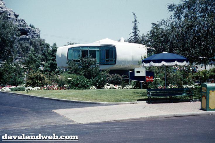 Monsanto House   Tomorrowland (Dinseyland) Anaheim, California, USA. 1955-1957  (demolished at 1967)   Architects: Richard Hamilton a...